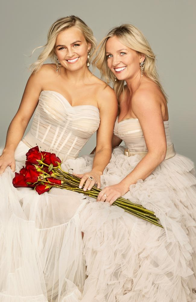 Elly and Becky Miles. Picture: Ten