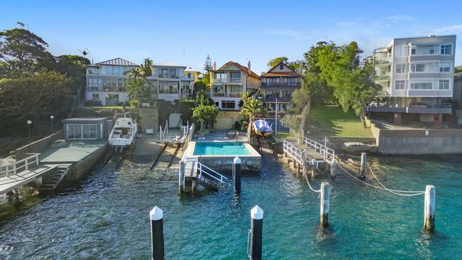 Probably need a boat for this $16.8 million home in Watsons Bay. Picture: realestate.com.au