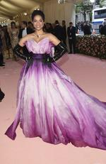 "Lilly Singh attends The Metropolitan Museum of Art's Costume Institute benefit gala celebrating the opening of the ""Camp: Notes on Fashion"" exhibition on Monday, May 6, 2019, in New York. (Photo by Evan Agostini/Invision/AP)"