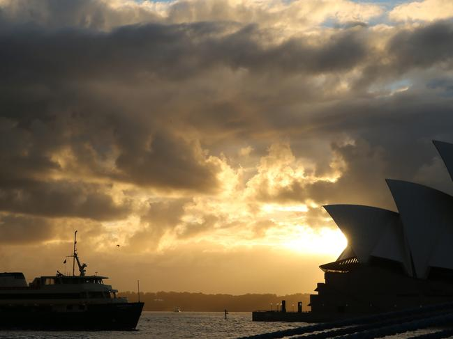 Sydney is one of four Australian cities on a new climate change A List. Picture: John Grainger