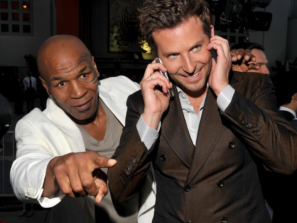 Tyson and actor Bradley Cooper on the red carpet.