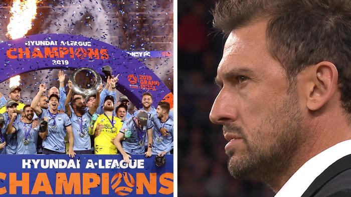 Sydney FC beat Perth Glory on penalties to be crowned A-League champions