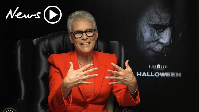 Jamie Lee Curtis chats about her role in Halloween