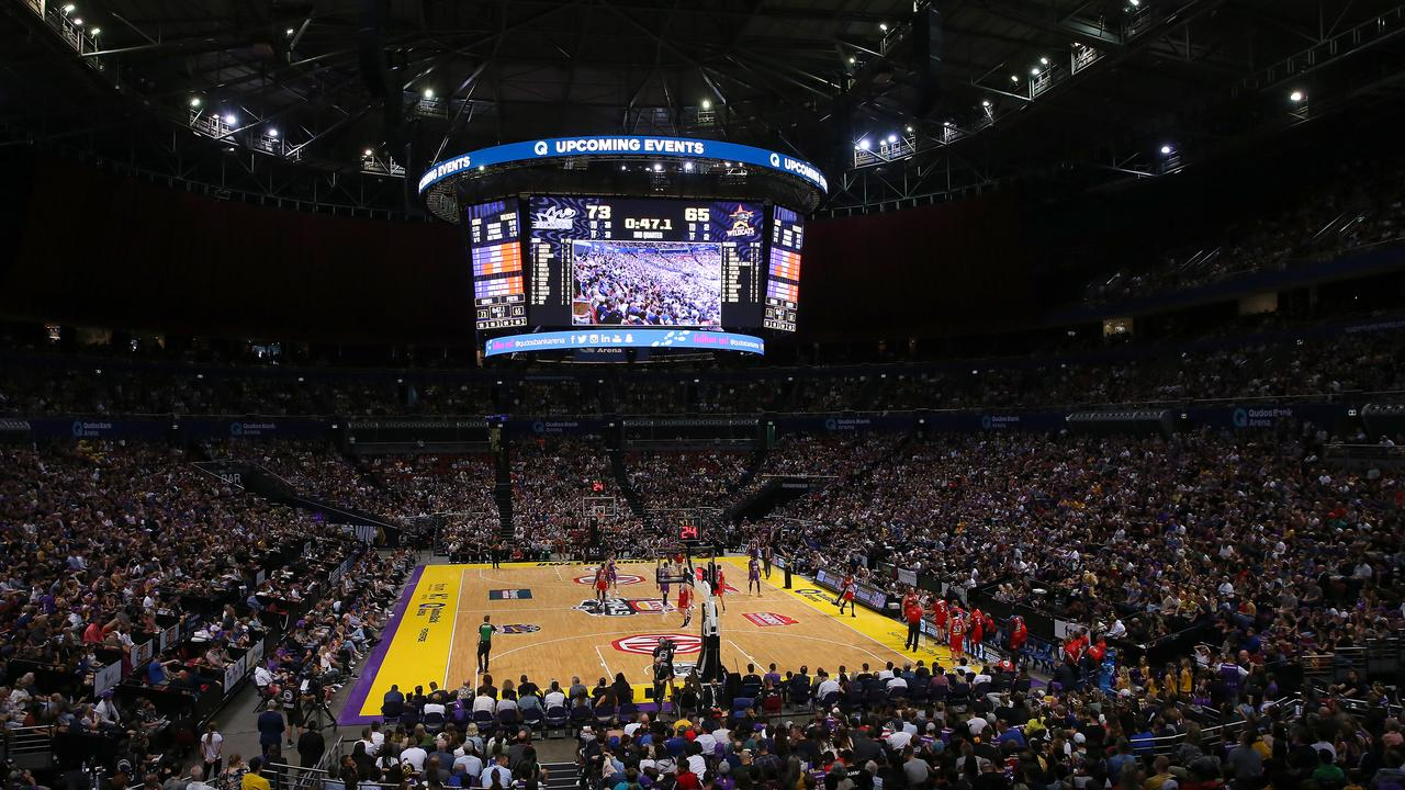 A Sydney crowd packed out Game 1.