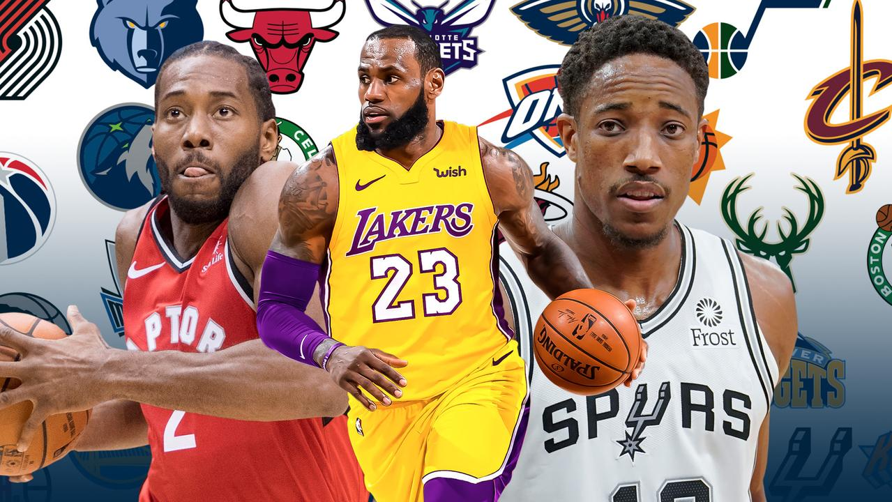 NBA 2018, 2019: rosters, all teams, opening day, schedule
