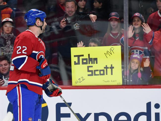 John Scott, the people's champion!