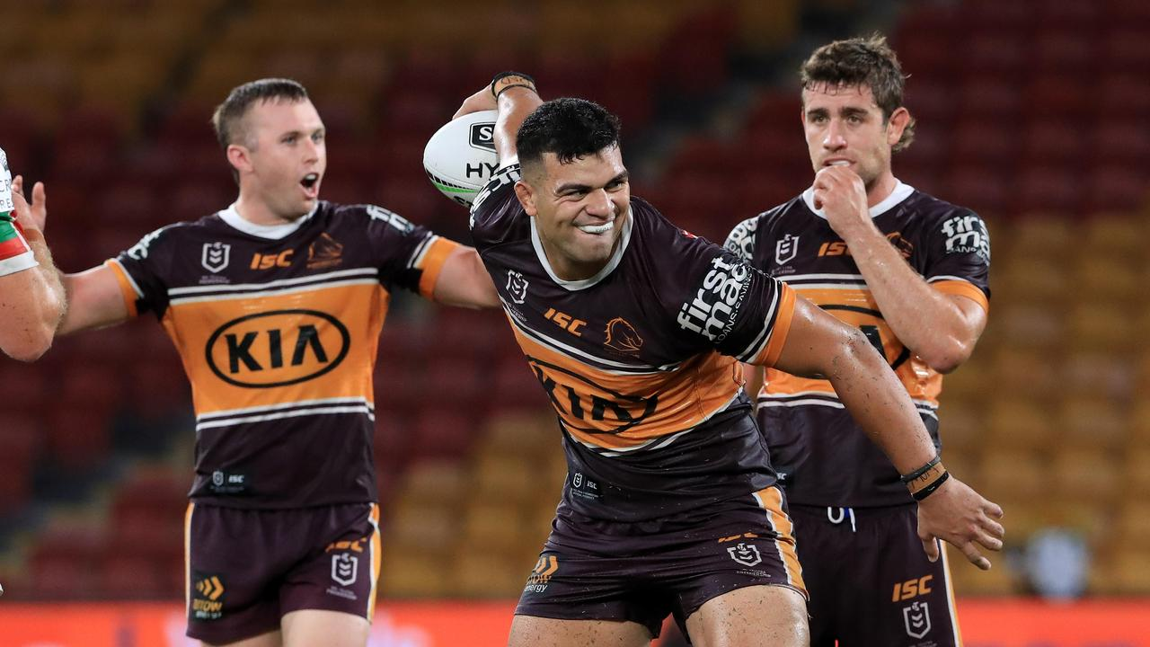 David Fifita is a big name forward on the market for a new deal. Pics Adam Head