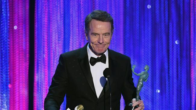Cranston said he believes Spacey's career is 'over'. Picture: Kevin Winter / Getty Images.