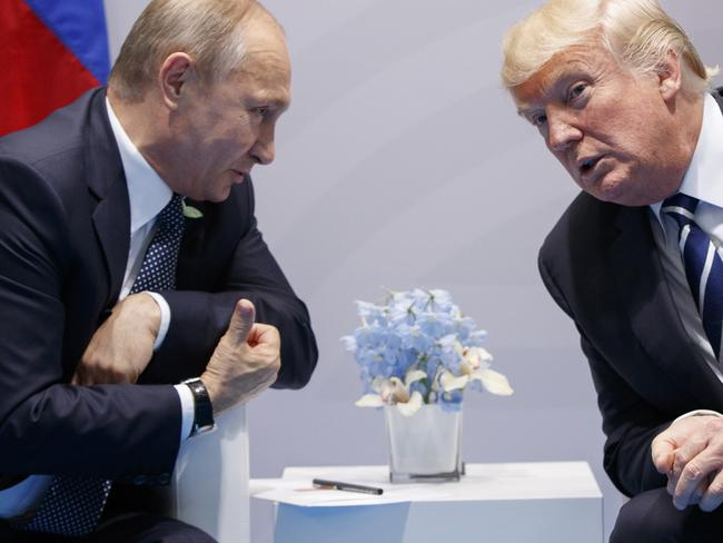 Russia's President Vladimir Putin and US President Donald Trump have a lot to discuss.