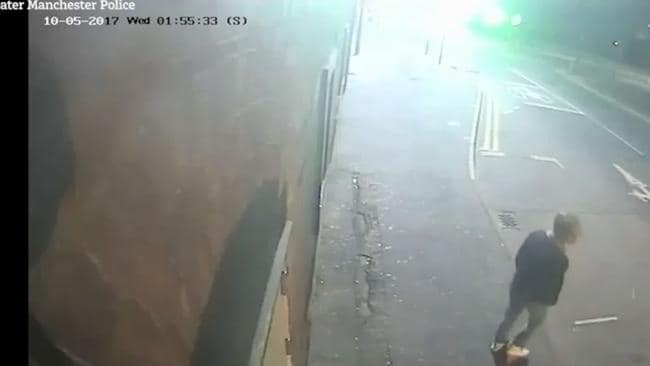 CCTV shows Sinaga on the street outside his flat where he preyed upon young men he took home and raped.