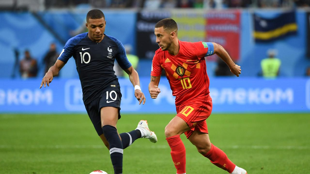 France's forward Kylian Mbappe and Belgium star Eden hazard could be in line to replace Ronaldo.