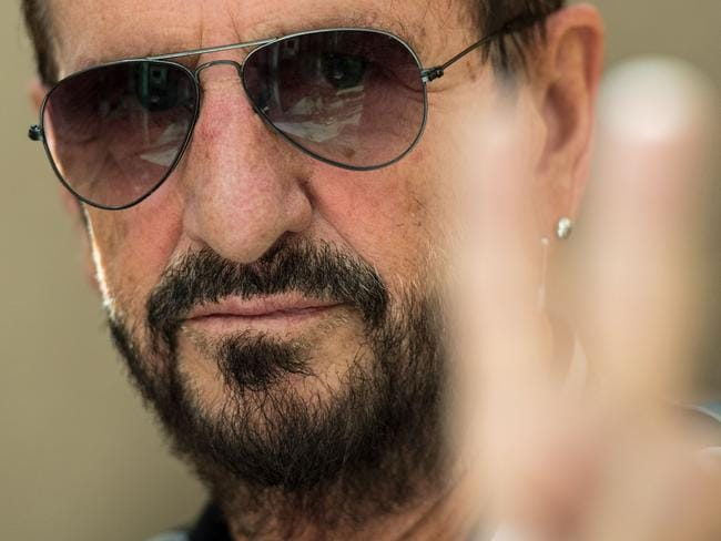 Sir Ringo Starr. Picture: AFP/CHRIS J RATCLIFFE