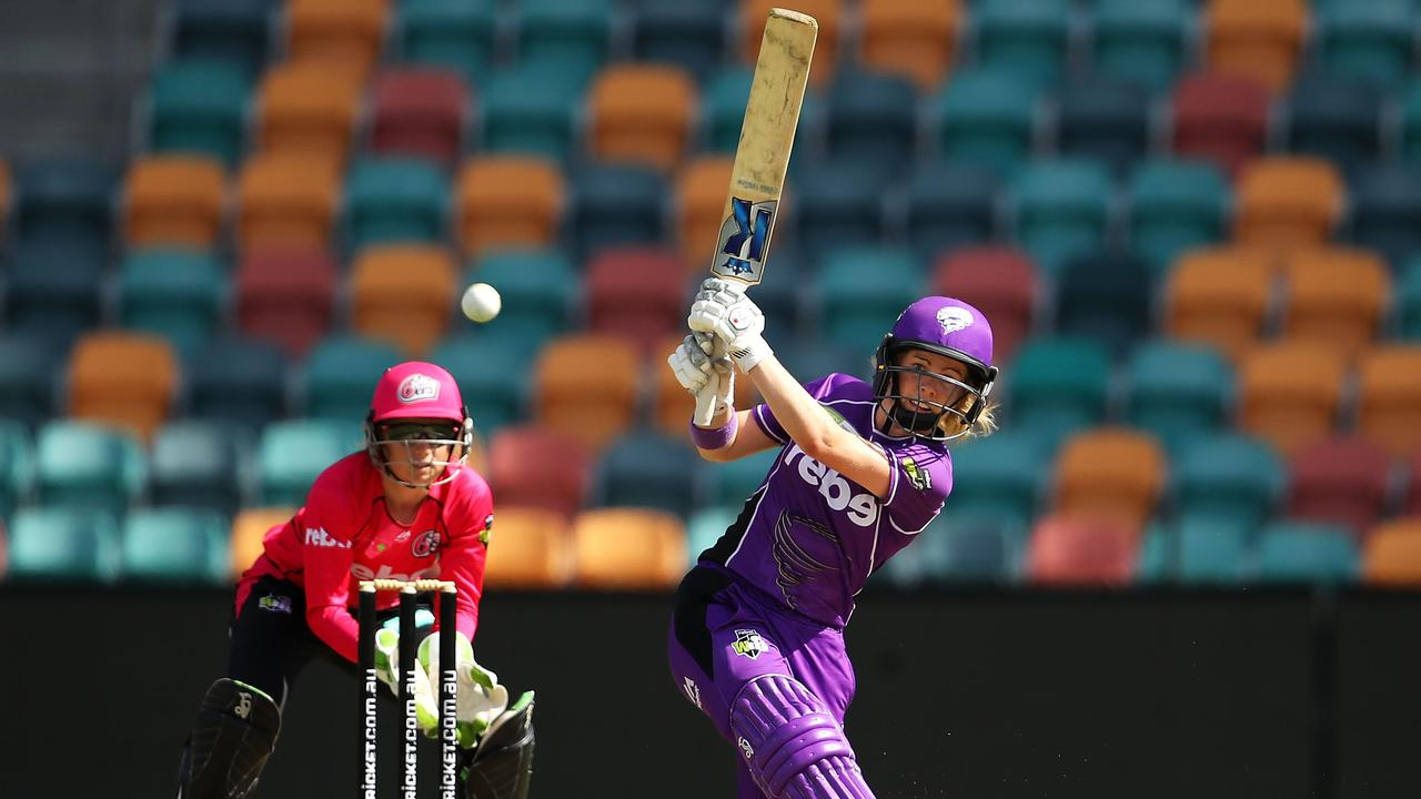Georgia Redmayne is one of the rising stars of the WBBL. Photo: Mark Kolbe/Getty Images.