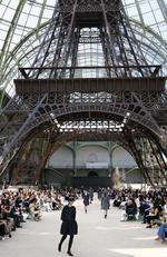 A model walks the runway during the Chanel Haute Couture Fall/Winter 2017-2018 show as part of Haute Couture Paris Fashion Week on July 4, 2017 in Paris, France. Picture: AP
