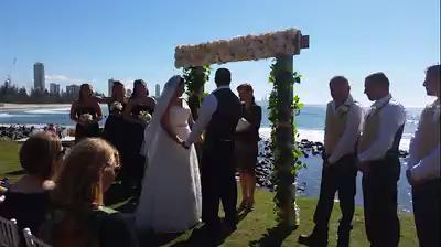 The most heartfelt wedding of the year