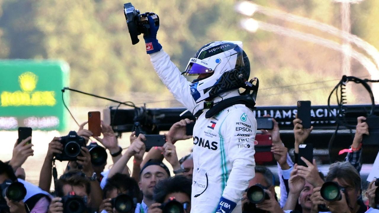 Valtteri Bottas waited a six-month wait for a win.