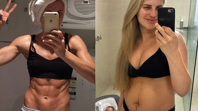 e3e600e88e9dc Tiffiny Hall  How she lost 25kg and got her abs back