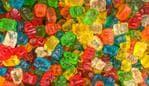 Colored jellied candy for background. Picture: istock