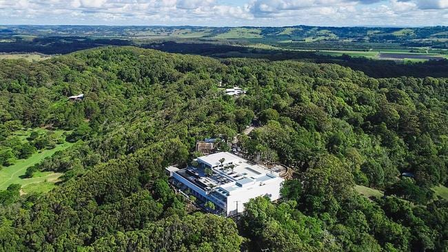 Chris Hemsworth and Elsa Pataky's property in the final stages of construction in Byron Bay.