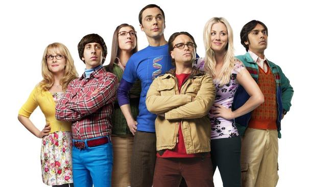 Success story ... The Big Bang Theory is one of the few American shows to rate big in Australia.