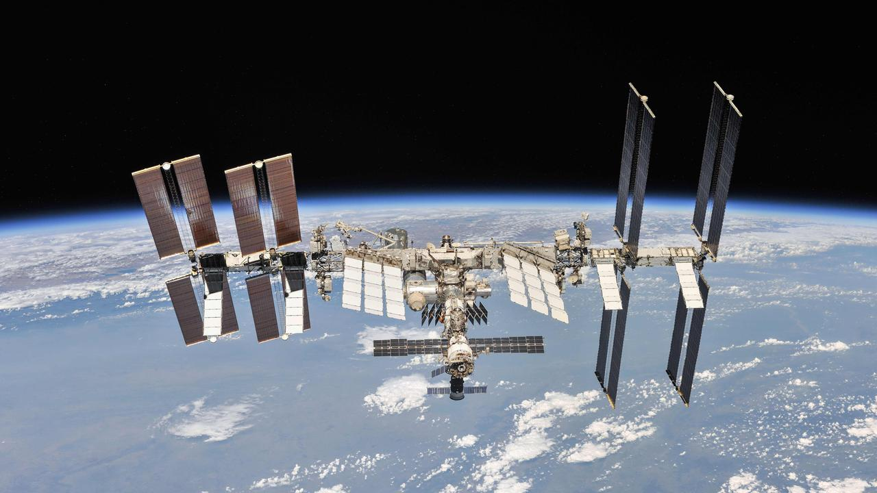 The International Space Station. Picture: NASA via AFP