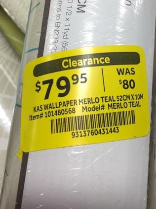 """A customer was unimpressed by this """"reduction""""."""