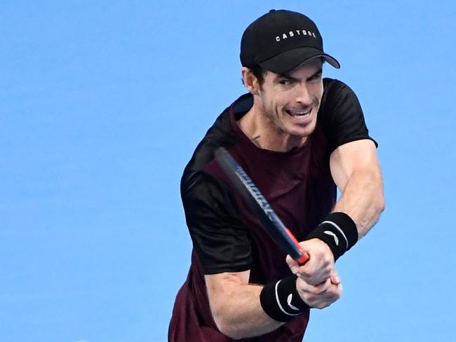 Britain's Andy Murray was a finalist in five previous Australian Open competitions.