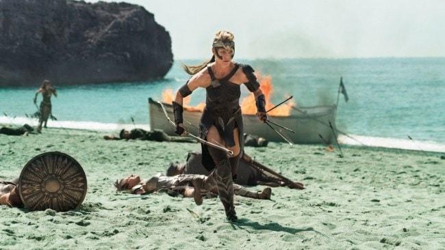 Robin Wright in Wonder Woman. Photo: Warner Bros