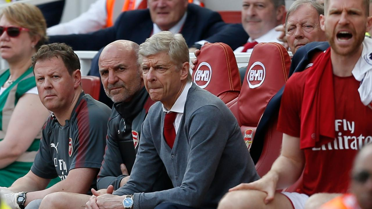 Wenger left Arsenal after 22 years at the club.