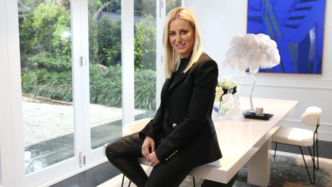 Roxy Jacenko photographed at her home in Vaucluse in Sydney. Picture: Britta Campion/The Australian