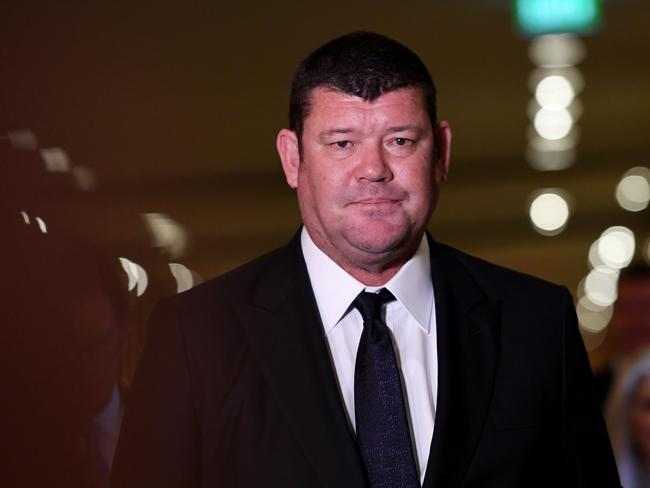 James Packer has relinquished control of Crown. Picture: AAP/Tracey Nearmy