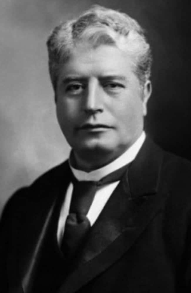 Sir Edmund Barton, Australia's first prime minister.