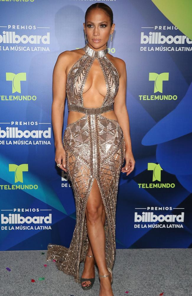 Every silver dress has a silver lining, Jennifer Lopez.