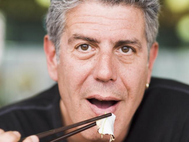 Anthony Bourdain spent about 250 days per year on the road travelling.