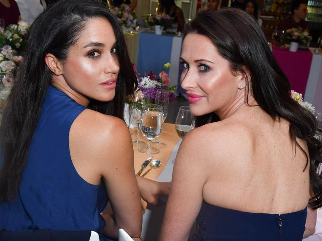 Meghan and Jessica Mulroney. Picture: Supplied
