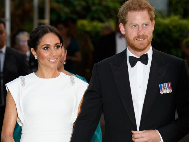 Prince Harry and Meghan, Duchess of Sussex. Picture: Supplied
