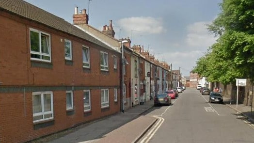The botched job was carried out on Earl St in Northampton in the UK. Picture: Google