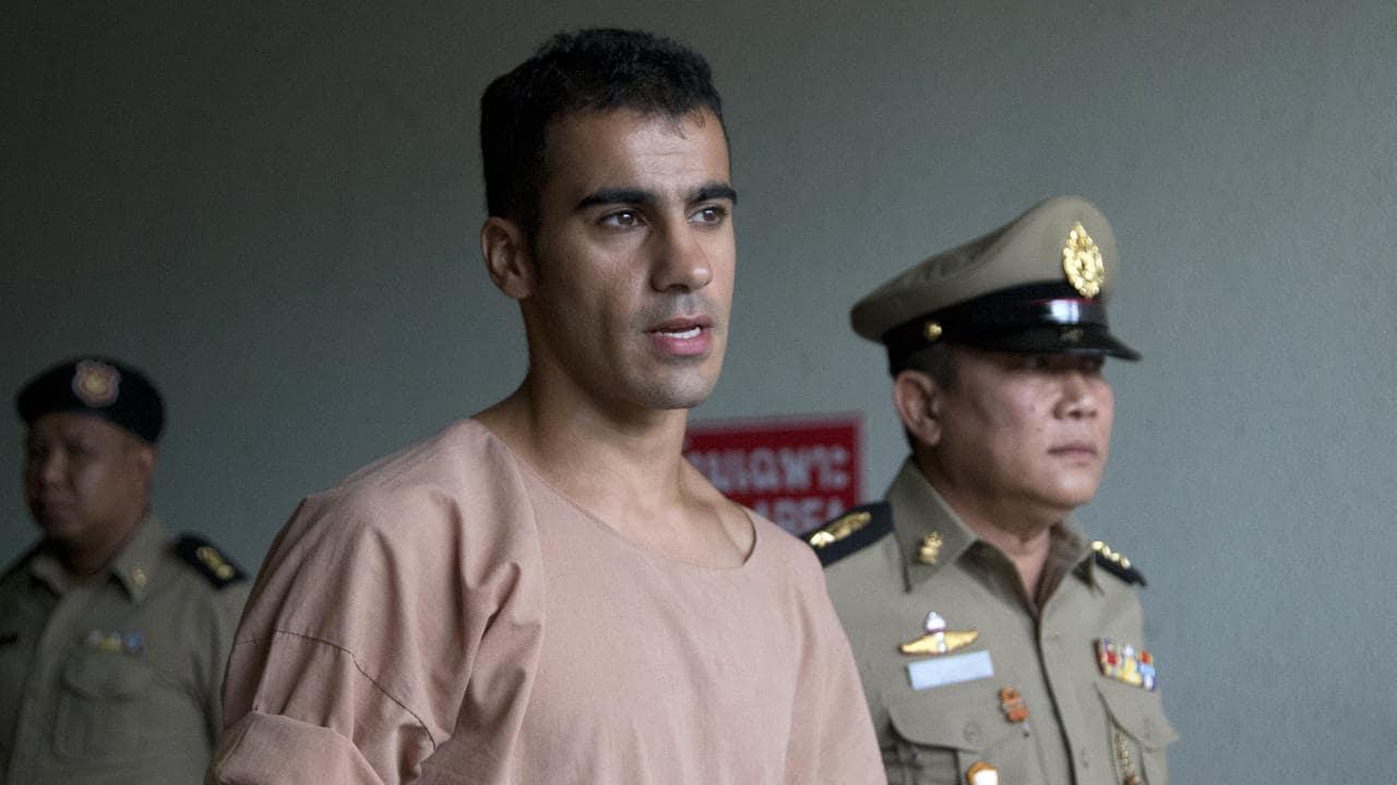 Bahraini football player Hakeem al-Araibi. (AP Photo/Sakchai Lalit)