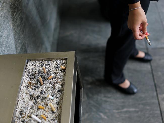 More than two million Australians smoke cigarettes despite health risks. Picture: AFP