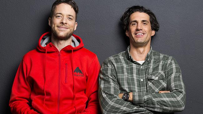 Hamish and Andy have a new, as yet untitled, show coming to Nine in the new year. Picture: Supplied