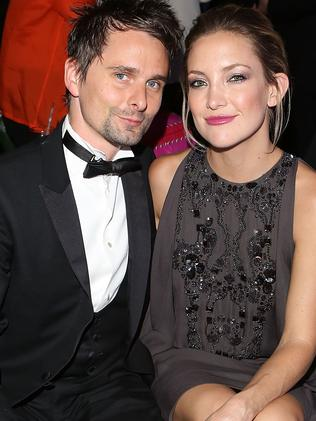 Matt Bellamy and Kate Hudson. Picture: Getty