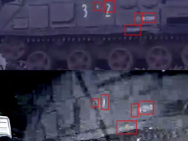Bellingcat's painstaking open source investigation tracked the transportation of the BUK missile that shot down MH17 between Russia and Ukraine. Picture: Bellingcat