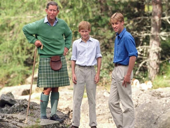 If anyone loves a kilt, it's the Prince of Wales. Picture: Julian Parker/UK Press/Getty Images.