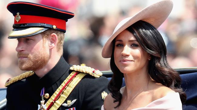 It's a far cry from their previous royal life. Picture: Chris Jackson/Getty Images