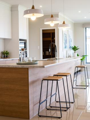 Statesman Homes' Lobethal Alfresco display home at Eden estate, Two Wells. Picture: Nick Clayton.