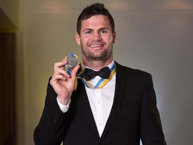 Paul Broughton Medal winner Anthony Don. Photo: Supplied
