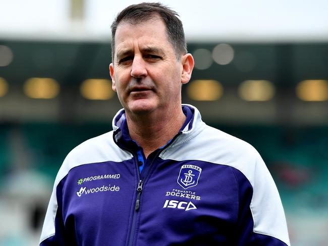 Ross Lyon lashed out.