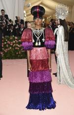 """Kiki Layne attends The Metropolitan Museum of Art's Costume Institute benefit gala celebrating the opening of the """"Camp: Notes on Fashion"""" exhibition on Monday, May 6, 2019, in New York. (Photo by Evan Agostini/Invision/AP)"""