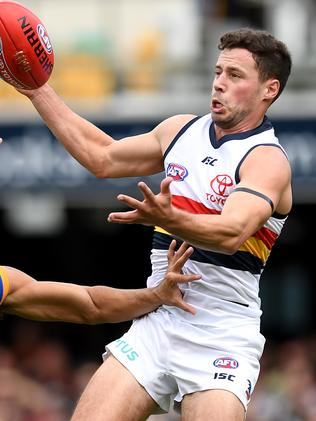 Does Luke Brown get the job on Robbie Gray? Picture: Bradley Kanaris/Getty Images.