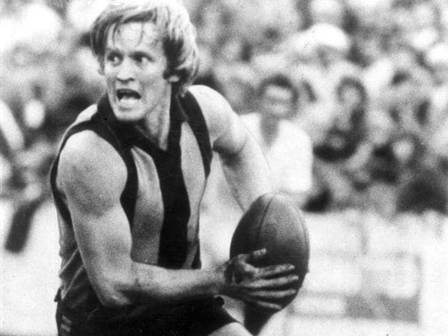 Peter Crimmins is a revered figure at Hawthorn.